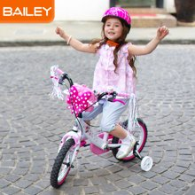 Disney迪士尼Bailey儿童自行车男女单车小孩单车3-13岁经典米妮款12寸