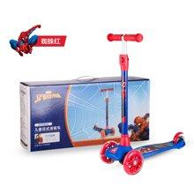 迪士尼儿童滑板车男女童小学生可升降闪光单脚四轮3-9-12岁滑滑车
