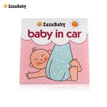 zazababy汽车贴baby in car 宝宝车贴 车用儿童警示车贴