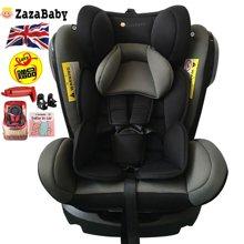 ZazaBaby 汽车儿童安全座椅ISOFIX 0-4-7-12岁婴儿宝宝新生儿可躺-精灵骑士