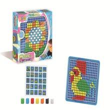 邦迪  2015新款JYX-004 儿童早教美术魔法拼盘益智塑料拼图3岁智力宝宝拼插玩具