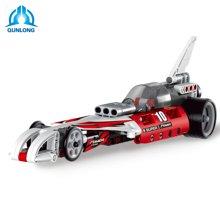 儿童益智拼装回力车积木玩具科技组合系列合体警察拦截车赛车兼容TTL0400-0403