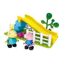 正版小猪佩奇玩具邦宝益智积木粉红猪小妹佩琪佩佩猪儿童女孩礼物