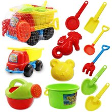 儿童沙滩玩具车套装宝宝玩沙子大号挖沙漏铲子婴儿戏水玩具