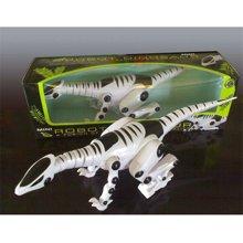 邦迪  JYX-010 电动机器 益智早教智能 电子恐龙模型 走路发光环保无害3C认证儿童玩具