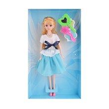 邦迪DB-012 公主芭比娃娃洋娃娃6关节真眼美瞳女孩儿童早教环保3C认证儿童玩具