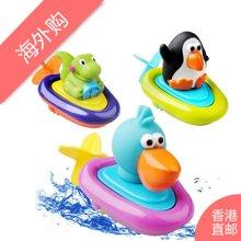 Sassy动物小船婴幼儿发条洗澡玩具
