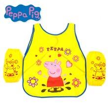 港版小猪佩奇PEPPA PIG粉红猪小妹佩佩猪可爱儿童劳作围裙