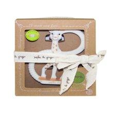 苏菲长颈鹿Sophie la girafe双环牙胶玩具(超柔软型)