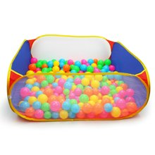 贝恩施儿童海洋球游戏池波波球多边形游戏帐篷屋彩色游戏池