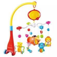 纽奇婴儿投影床铃宝宝床头铃遥控旋转音乐新生婴儿玩具928-10
