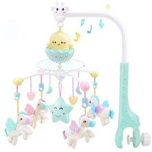 0-1岁宝宝婴儿床铃音乐旋转床头摇铃3-6-12个月2新生儿5婴儿玩具YZDZ168-25CD
