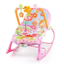 多功能振动摇椅婴儿摇椅躺椅安抚椅新生儿摇篮床电动摇摇椅