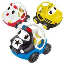 儿童益智带声光滑行车宝宝早教玩具车声光软胶卡通车