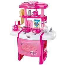 贝恩施 过家家角色扮演厨房玩具 仿真厨具餐具做饭玩具套装