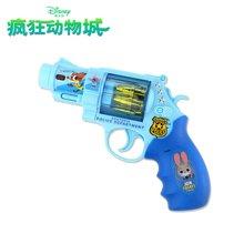 港版Disney迪士尼疯狂动物城 儿童发声发光手枪 未来警察队长