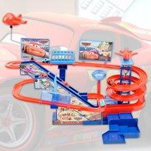 小才童电动小火车轨道儿童玩具托马斯 汽车总动员  款式随机发货A333-7928YBE