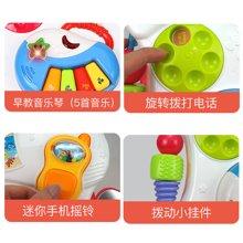 贝恩施婴儿学步车玩具 7-18个月宝宝手推车助步车多功能音乐玩具