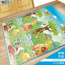 婴侍卫宝宝爬行垫婴儿爬垫家用野餐垫儿童游戏垫户外便携垫子WT3款爬行垫