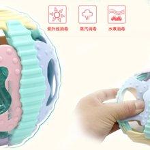 婴儿摇铃声光软胶健身球3个月以上婴儿益智早教声光音乐玩具