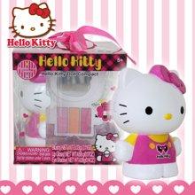 育儿之钥HelloKitty 凯蒂猫 儿童化妆品 彩妆盒箱过家家玩具女孩