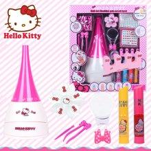 育儿之钥凯蒂猫专业美甲组合儿童化妆品美甲套装指甲油无毒送女孩生日礼物-凯迪猫专业美甲
