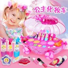 育儿之钥迪士尼儿童化妆品公主彩妆盒套装无毒圣诞节女童女孩玩具生日礼物