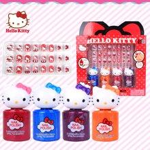 育儿之钥HelloKitty凯蒂猫儿童化妆品彩妆盒套装女孩过家家玩具化妆