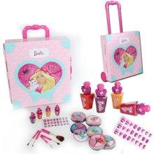 育儿之钥 凯蒂猫儿童化妆品灯光手拉杆箱带粉饼彩妆盒