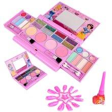 育儿之钥迪士尼无毒儿童化妆品公主彩妆盒套装女孩玩具过家家玩具生日礼物