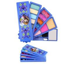 育儿之钥迪士尼儿童化妆品冰雪奇缘儿童化妆品旋转彩妆盒 无毒无害化妆品