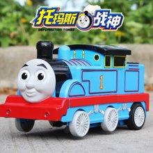 小才童托马斯小火车头变形汽车机器人儿童电动遥控一键变形遥控汽车玩具696178YDL