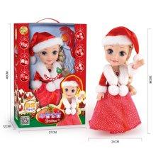 小才童66032圣诞款 限量珍藏版冰雪奇缘公主娃娃圣诞礼品玩具6603279CZ