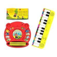 巨妙立玩具早教系列 组合装 红色鼓+黄色音乐琴