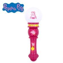 香港正品小猪佩奇Peppa Pig粉红猪小妹佩佩猪仿真音乐发光麦克风