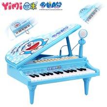 哆啦A梦电子琴麦克风女孩玩具儿童早教益智音乐小孩钢琴
