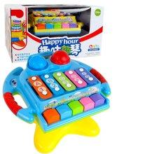小才童儿童敲打琴 1-3岁益智早教八音琴手敲琴 婴儿宝宝音乐玩具81635SQ