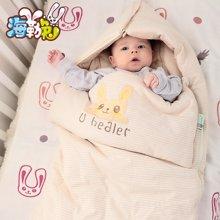 UHEALER海勒兔 婴幼儿多用睡袋 纯棉儿童包被 透气保暖防踢被