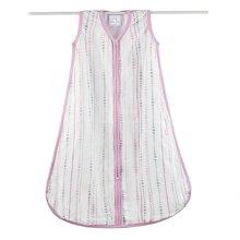 aden+anais睡袋舒适双层婴儿竹棉轻薄空调盖被新生儿保暖防踢被
