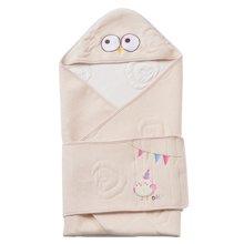 蒂乐彩棉空气层婴儿抱毯