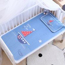 妈唯乐Marvelous Kids儿童凉席凉枕套装婴儿床冰丝凉幼儿园席子夏季枕头