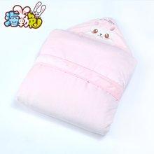 UHEALER海勒兔 秋冬季纯棉加厚抱毯 精梳棉新生儿婴儿抱被