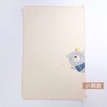 威尔贝鲁 纯棉婴儿毛毯 宝宝毯子盖毯春秋新生儿童卡通被子秋冬