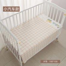 威尔贝鲁(WELLBER)婴儿毛毯新生儿儿童盖毯宝宝纯棉纱布大号空调被子盖毯