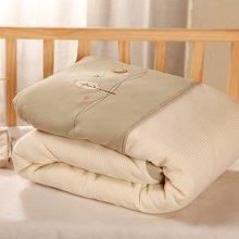 Marvelous kids婴幼儿四季被全棉面料色织提花可脱胆110X140CM被重量1.5斤