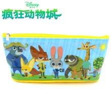 港版迪士尼疯狂动物城儿童可爱卡通方形包笔袋