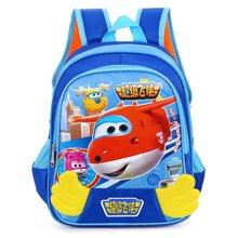 芃拉儿童书包幼儿园中大班男女童背包 一年级双肩包小学生书包TM916119BLSS