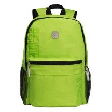 孔子书包2年级-6年级学生系列清爽翠绿涤纶A303绿色双肩背包