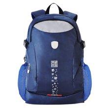 孔子书包初中-高中学生休闲系列大容量双肩背包D103
