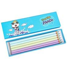 iscream上品汇硬纸笔盒彩虹铅笔套装创意旅行熊猫插画文具盒学生
